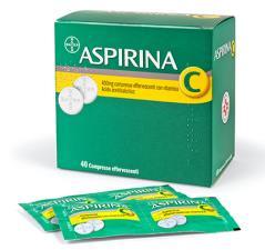ASPIRINA C 40 Compresse effervescenti