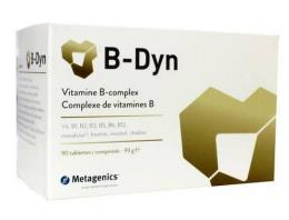 B-DYN INTEGRATORE ALIMENTARE COMPLESSO VITAMINE DEL GRUPPO B 90 COMPRESSE