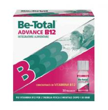 BE TOTAL ADVANCED B12 30 flaconcini