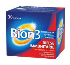 BION3 INTEGRATORE ALIMENTARE DIFESE IMMUNITARIE30 COMPRESSE