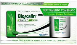 BIOSCALIN PHYSIOGENINA INTEGRATORE ALIMENTARE 30 COMPRESSE IN OMAGGIO SHAMPOO RIVITALIZZANTE 200ml