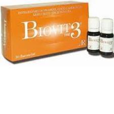 BIOVIT 3 ENERGY INTEGRATORE ALIMENTARE ENERGETICO - 10 FLACONCINI DA 10 ML