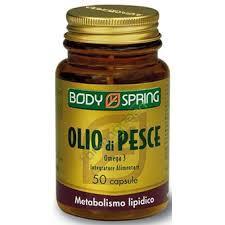 BODY SPRING OLIO DI PESCE - 50 CAPSULE