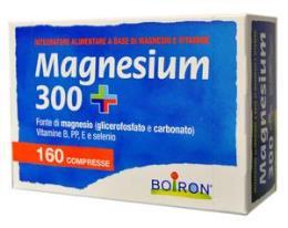 BOIRON MAGNESIUM 300+ INTEGRATORE ALIMENTARE DI MAGNESIO E VITAMINE 160 CPR
