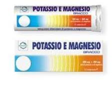 BRACCO POTASSIO E MAGNESIO - 12 COMPRESSE EFFERVESCENTI