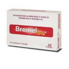 BROMEL FORTE INTEGRATORE ALIMENTARE PER IL BENESSERE OSTEOARTICOLARE - 20 COMPRESSE