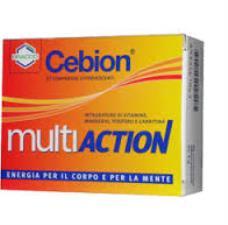 CEBION MULTIACTION INTEGRATORE ALIMENTARE - 20 COMPRESSE EFFERVESCENTI