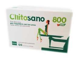 CHITOSANO 800 INTEGRATORE ALIMENTARE PER L'EQUILIBRIO DEL PESO - 60 COMPRESSE DA 824 G