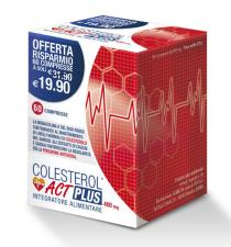 COLESTEROL ACT PLUS 60 COMPRESSE