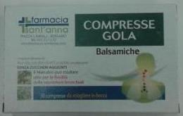 COMPRESSE GOLA BALSAMICHE 30 compresse