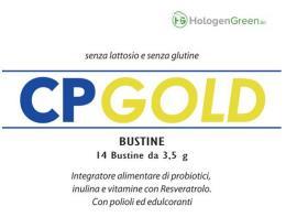 CP GOLD INTEGRATORE ALIMENTARE DI PROBIOTICI 14 BUSTINE
