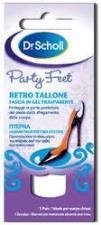 DR SCHOLL PARTY FEET RETRO TALLONE FASCIA IN GEL TRASPARENTE