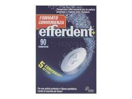 EFFERDENT COMPRESSE EFFERVESCENTI IGIENIZZANTI - 90 COMPRESSE