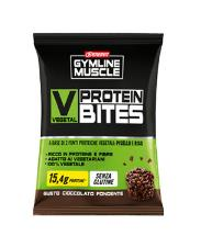 ENERVIT GYMLINE MUSCLE VEGETAL PROTEIN BITES SNACK PROTEICI CIOCCOLATO FONDENTE