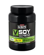 ENERVIT GYMLINE MUSCLE VEGETAL SOY PROTEIN PROTEINE ISOLATE DI SOIA CIOCCOLATO FONDENTE 800g