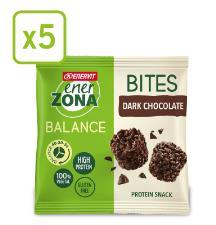 ENERZONA BITES DARK CHOCOLATE 5 MINIPACK