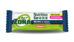 ENERZONA NUTRITION BAR 40-30-30 MIRTILLO E CACAO 1 pz
