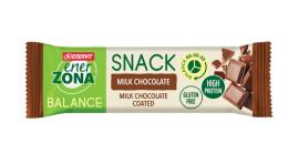 ENERZONA SNACK 40-30-30 barretta MILK CHOCOLATE 33g