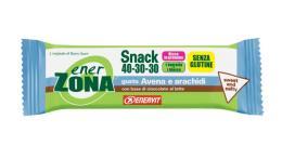 ENERZONA SNACK 40-30-30 barrette gusto AVENA e ARACHIDI 1 pz