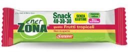 ENERZONA SNACK 40-30-30 barrette gusto Frutti Tropicali 1pz