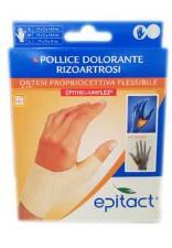 EPITACT ORTESI PROPRIOCETTIVA FLESSIBILE - POLLICE DOLORANTE RIZOARTROSI - MANO SINISTRA TAGLIA S
