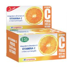 ESI VITAMINA C PURA RETARD 30 COMPRESSES