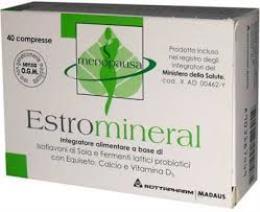 ESTROMINERAL - DISTURBI DELLA MENOPAUSA - 40 COMPRESSE