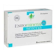ESTROMINERAL SERENA PLUS - DISTURBI DELLA MENOPAUSA - 30 COMPRESSE