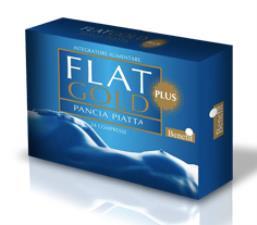 FLAT GOLD PLUS PANCIA PIATTA 24 Compresse