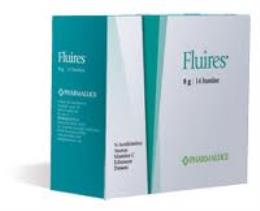 FLUIRES INTEGRATORE ALIMENTARE - 14 BUSTINE DA 8 G