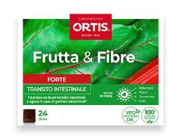 FRUTTA E FIBRE FORTE 24 CUBETTI