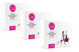 GOLD COLLAGEN PURE BEAUTY IN A BOX OFFERTA 3 PEZZI