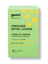 GOOVI STRONGER BETTER LONGER INTEGRATORE ALIMENTARE CAPELLI & UNGHIE 60 COMPRESSE