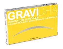 GRAVIDHA Integratore alimentare omega 3 30 capsule