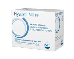 HYALISTIL BIO PF COLLIRIO 0,2% 30 MONODOSE 0,25 ml