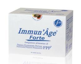 ImmunAge FORTE Papaya Fermentata in polvere Forte 60buste  270 gr