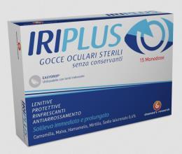 IRIPLUS GOCCE OCULARI STERILI 15 CONTENITORI MONODOSE