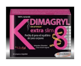 KILOCAL DIMAGRYL EXTRA SLIM 60 COMPRESSE