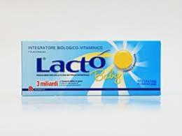 LACTO BABY INTEGRATORE ALIMENTARE DI FERMENTI LATTICI - 7 FLACONCINI