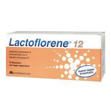 LACTOFLORENE 12 Flaconcini con tappo separatore