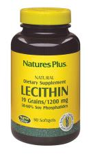 LECITHIN LECITINA DI SOIA NATURE'S PLUS 90 CAPSULE