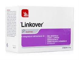 LINKOVER INTEGRATORE ALIMENTARE A BASE DI MIO INOSITOLO - 21 BUSTINE DA 6,3 G