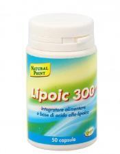 LIPOIC 300 INTEGRATORE ALIMENTARE DI ACIDO ALFA LIPOICO 50 CAPSULE
