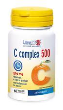 LONGLIFE C COMPLEX 500 vitamina C a rilascio graduato 60 tavolette