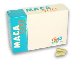 MACA 500 Integratore alimentare antistress 60 Capsule