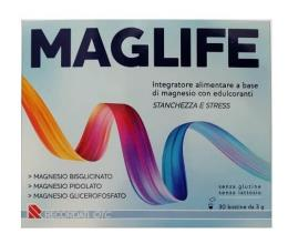 MAGLIFE INTEGRATORE ALIMENTARE DI MAGNESIO 30 BUSTINE