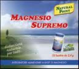 MAGNESIO SUPREMO 32 BUSTINE da 2,4 grammi