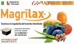 MAGRILAX Favorisce la regolarità del transito intestinale 12 Cubogel