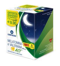 MELATONINA FORTE 5 COMPLEX E VALERIANA 60 COMPRESSE