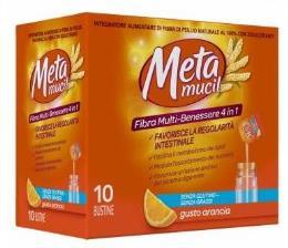 METAMUCIL Fibra Multi-Benessere 4 in 1 - 10 bustine Gusto ARANCIA